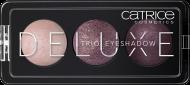 Тени для век CATRICE Deluxe Trio Eyeshadow 030 Rose Vintouch бордовые тона: фото