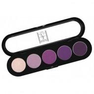 Палитра теней, 5 цветов Make-Up Atelier Paris T30 лунный свет 10: фото