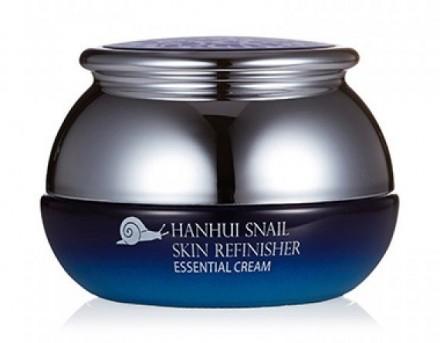 Крем антивозрастной с муцином улитки BERGAMO Snail skin refinisher essential cream 50 ml: фото