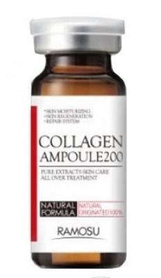 Сыворотка-концентрат морского коллагена RAMOSU Collagen ampoule 200 10 мл: фото