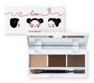 Палетка для макияжа бровей KARADIUM Eyebrow Cake Pucca Edition: фото