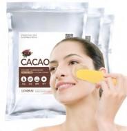 Альгинатная маска с какао LINDSAY Premium cacao modeling mask pack (zipper) 1 кг: фото