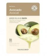 Отзывы Маска с экстрактом авокадо THE FACE SHOP Real nature mask sheet avocado 20 г.