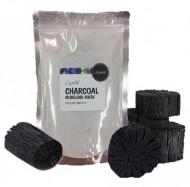 Альгинатная маска для лица с активированным углем LINDSAY Premium charcoal modeling mask pack (zipper) 240г: фото