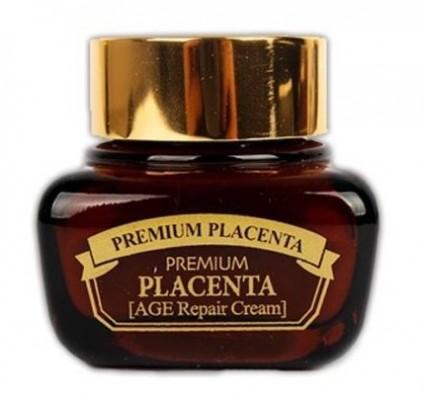 Крем антивозрастной с плацентой 3W CLINIC Premium Placenta Age intensive Cream 50г: фото