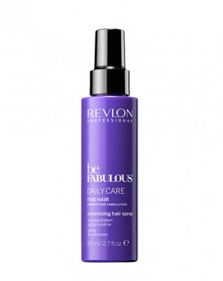 Поддерживающий объем спрей для ежедневного ухода за тонкими волосами Revlon Professional, Be Fabulous 80 мл: фото