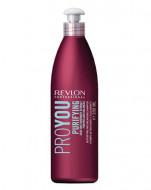 Очищающий шампунь для волос Revlon Professional, Pro You PURIFYING 350 мл: фото