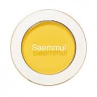 Тени для век матовые THE SAEM Saemmul Single Shadow (Matte) YE03 Lemon Candy Yellow 1,6гр: фото
