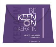 Сыворотка кератиновая для выпрямления волос KEEN KERATIN GLÄTTUNGS SERUM 7*10мл: фото