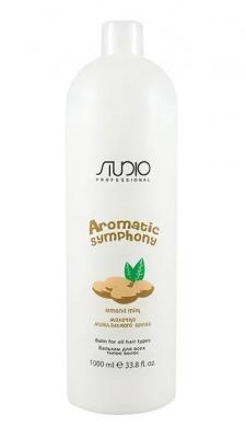 Бальзам для всех типов волос Молочко миндального ореха Kapous Studio 1000мл: фото