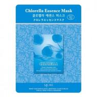 Маска тканевая хлорелла Mijin Chlorella Essence Mask 23гр: фото