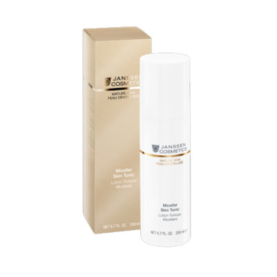 Тоник мицеллярный с гиалуроновой кислотой Janssen Cosmetics Micellar Skin Tonic 200 мл: фото