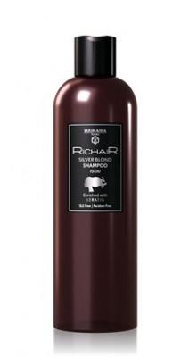 Шампунь оттеночный для платиновых оттенков блонд с Кератином Egomania RicHair Blond 400мл: фото
