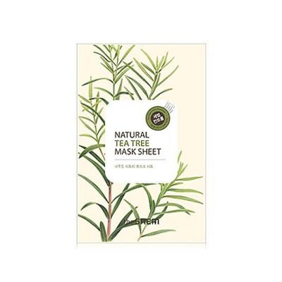 Маска тканевая с экстрактом чайного дерева THE SAEM Natural Tea Tree Mask Sheet 21мл: фото