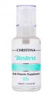 Масло массажное с мультивитаминами (шаг 6b) CHRISTINA Unstress: Multi Vitamin Supplement 100 мл: фото