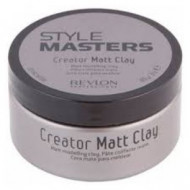 Глина матирующая и формирующая для волос Revlon Professional STYLE MASTERS MATT CLAY 85мл