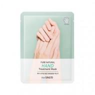 Маска для рук THE SAEM PURE NATURAL Hand Treatment Mask 8г*2: фото