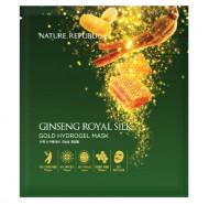Маска для лица гидрогелевая NATURE REPUBLIC GINSENG ROYAL SILK GOLD 2 STEP HYDROGEL MASK: фото