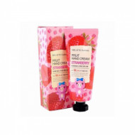 Крем для рук Milatte Fashiony Fruit Hand Cream Strawberry Клубника 60 г: фото