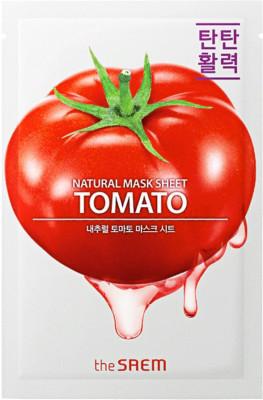 Маска тканевая с экстрактом томата THE SAEM Natural Tomato Mask Sheet 21мл: фото