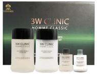 Набор мужской УВЛАЖНЕНИЕ И СВЕЖЕСТЬ 3W CLINIC HOMME Classic Moisturizing Freshnes: фото