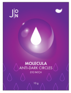 Патчи тканевые патчи для глаз J:ON MOLECULA ANTI-DARK CIRCLES EYE PATCH 12г*10шт: фото