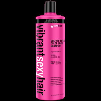 Шампунь для сохранения цвета SEXY HAIR Color Lock Shampoo 1000мл: фото