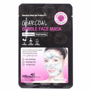 Очищающая пузырьковая маска для лица с древесным углем MBEAUTY CHARCOAL BUBBLE FACE MASK, 20мл: фото