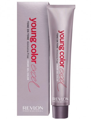Крем-гель полуперманентный Revlon Professional Young Color Excel 4.65 Темно-Красный 70мл: фото