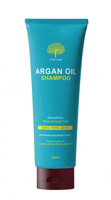 Шампунь для волос АРГАНОВЫЙ EVAS Char Char Argan Oil Shampoo 100 мл: фото