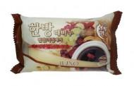 Мыло с отшелушивающим эффектом с восточными травами JUNO Sangtumeori Peeling Soap Oriental Medicine 150г: фото