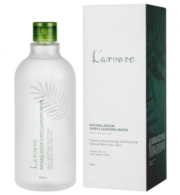 Мицеллярная вода L'arvore Natural Origin Super Cleansing Water 500 мл: фото
