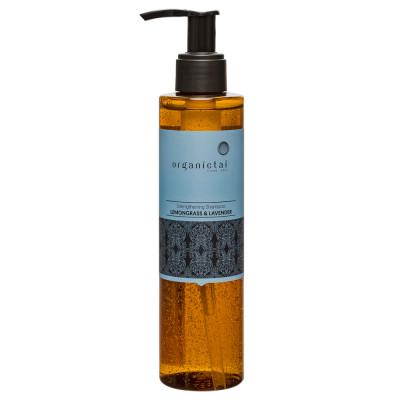 Шампунь безсульфатный Лемонграсс и Лаванда OrganicTai Strengthening Shampoo Lemongrass & Lavender 200мл: фото