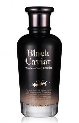 Эмульсия-лифтинг питательная Holika Holika Black Caviar Anti-Wrinkle Emulsion 120 мл: фото