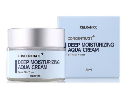 Крем глубоко увлажняющий CELRANICO Deep Moisturizing Aqua Cream 50мл: фото