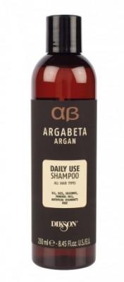 Шампунь ежедневный с аргановым маслом Dikson Argabeta Daily use Shampoo 250 мл: фото
