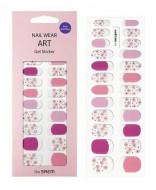Наклейки для ногтей THE SAEM Nail Wear Art Gel Sticker 11 Lavender Flower: фото