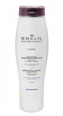 Шампунь для жирных волос BRELIL BIOTREATMENT PURE SEBO BALANCING Shampoo 250мл: фото