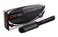Расческа-выпрямитель для волос электрическая CHI ELLIPSE TITANIUM: фото