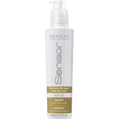 Питательный шампунь-кондиционер для Очень сухих волос Revlon Professional SENSOR NUTRITIVE SHAMPOO 200 мл: фото