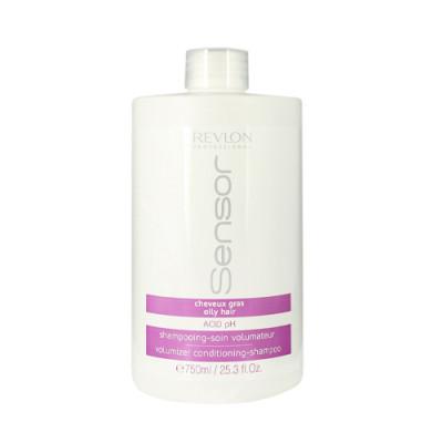 Шампунь-кондиционер для объема для волос склонных к жирности Revlon Professional SENSOR VOLUMIZER SHAMPOO 750мл: фото