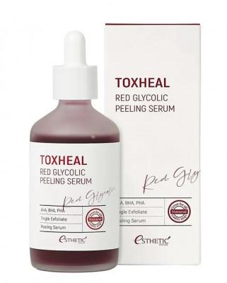 Пилинг-сыворотка ГЛИКОЛЕВАЯ ESTHETIC HOUSE Toxheal Red Glycolic Peeling Serum 100 мл: фото