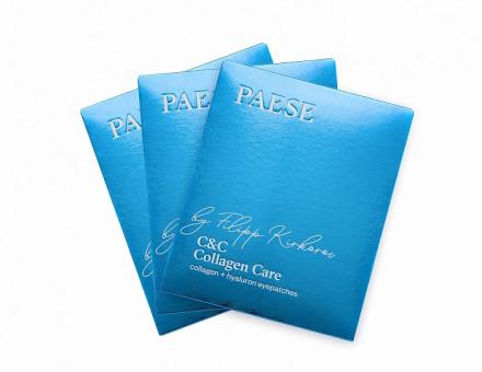Набор премиальных коллагеновых патчей PAESE C&C by Filipp Kirkorov 3шт: фото